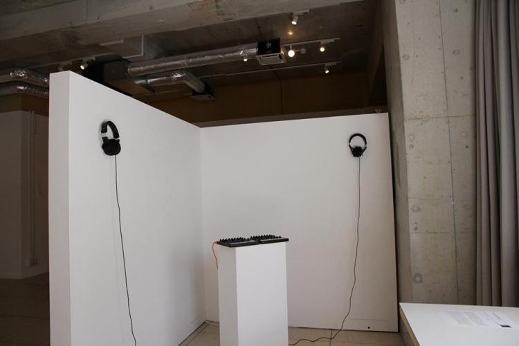 Coextensive Ubiquity @ Tokyo art and space OPEN STUDIO (Félix-Antoine Morin)