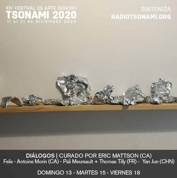 Tsonami festival 2020 - Félix-Antoine Morin - poster
