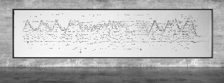 Graphic notation - Félix-Antoine Morin 2021 - Partition graphique - visual art - 12