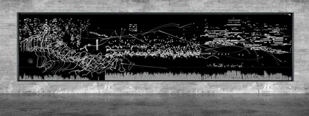 Graphic notation - Félix-Antoine Morin 2021 - Partition graphique - visual art - 15