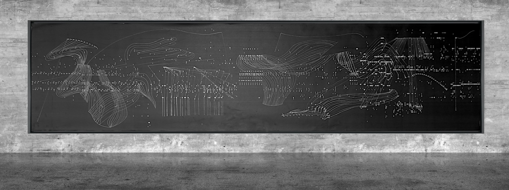Graphic notation - Félix-Antoine Morin 2021 - Partition graphique - visual art - 18
