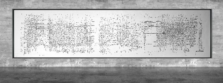 Graphic notation - Félix-Antoine Morin 2021 - Partition graphique - visual art - 2