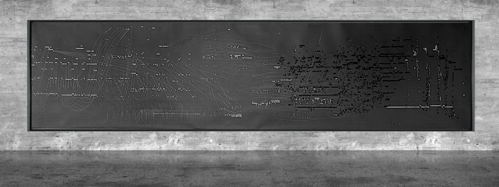 Graphic notation - Félix-Antoine Morin 2021 - Partition graphique - visual art - 20