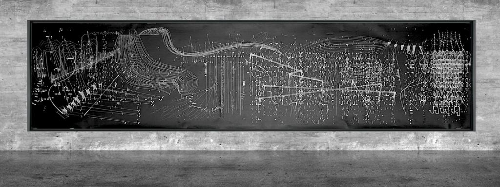 Graphic notation - Félix-Antoine Morin 2021 - Partition graphique - visual art - 22