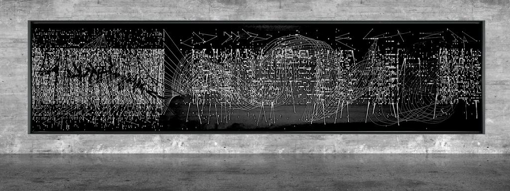 Graphic notation - Félix-Antoine Morin 2021 - Partition graphique - visual art - 23