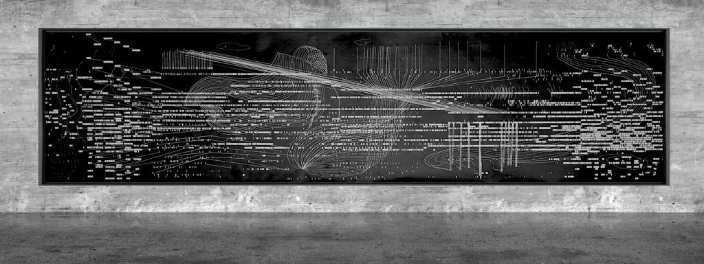 Graphic notation - Félix-Antoine Morin 2021 - Partition graphique - visual art - 24