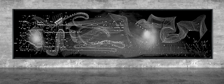 Graphic notation - Félix-Antoine Morin 2021 - Partition graphique - visual art - 25