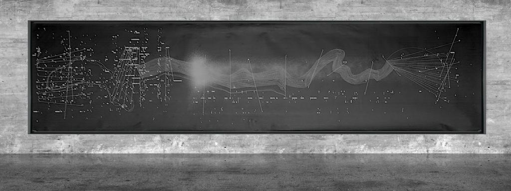 Graphic notation - Félix-Antoine Morin 2021 - Partition graphique - visual art - 26