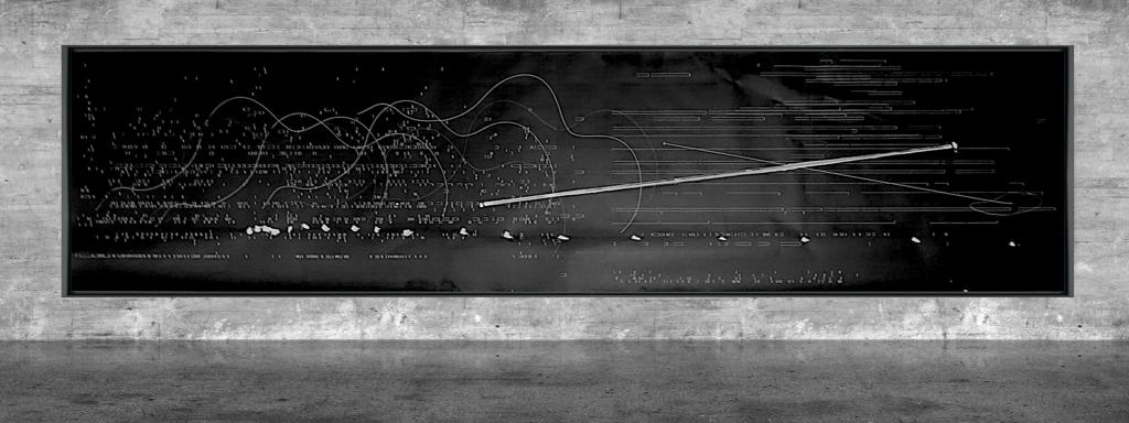 Graphic notation - Félix-Antoine Morin 2021 - Partition graphique - visual art - 30