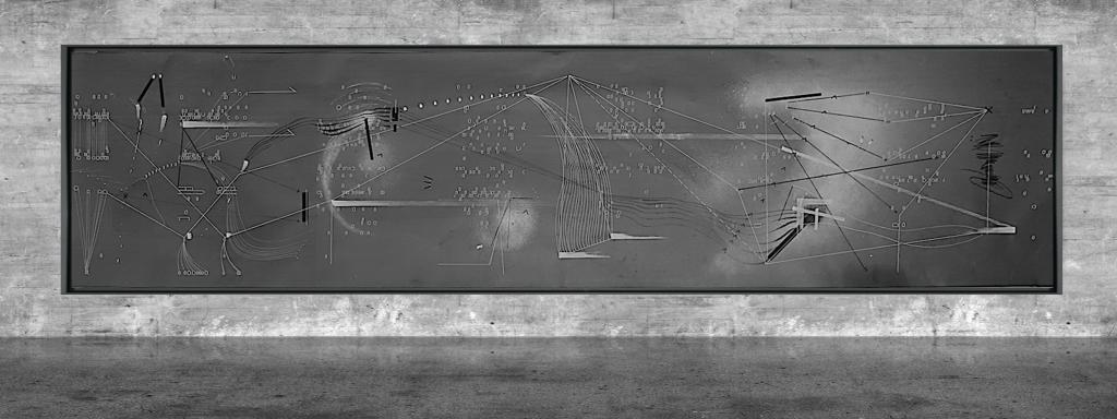 Graphic notation - Félix-Antoine Morin 2021 - Partition graphique - visual art - 32
