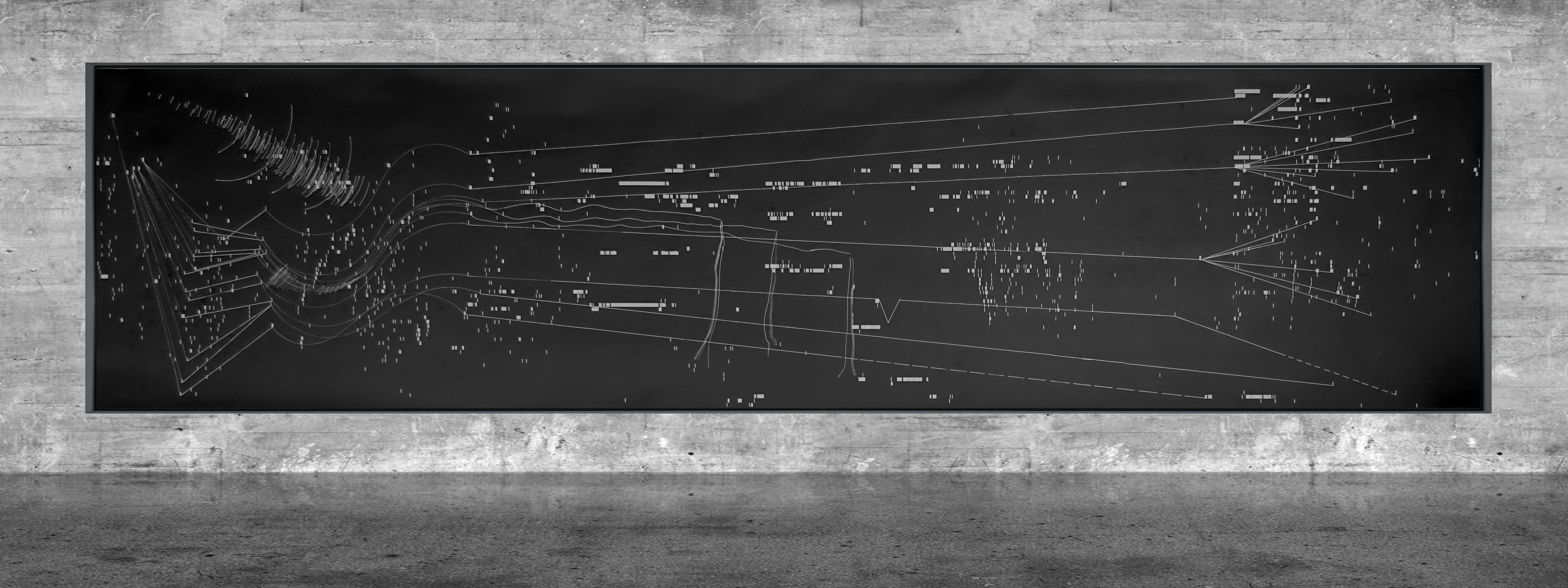 Graphic notation - Félix-Antoine Morin 2021 - Partition graphique - visual art - 33