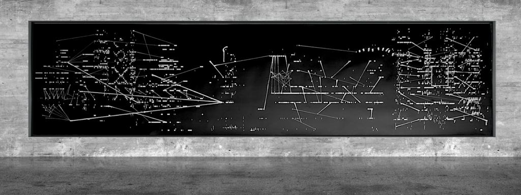 Graphic notation - Félix-Antoine Morin 2021 - Partition graphique - visual art - 9