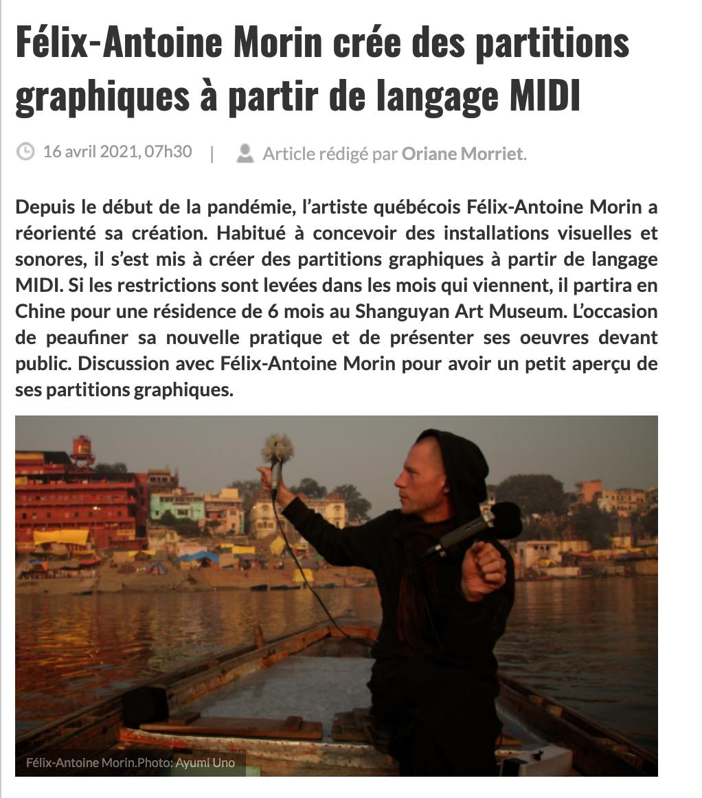 Félix-Antoine Morin - Le lien multimedia 2021